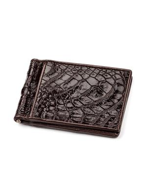 Зажим для денег коричневый   4696988