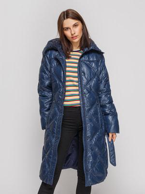 Пальто синее | 4666259