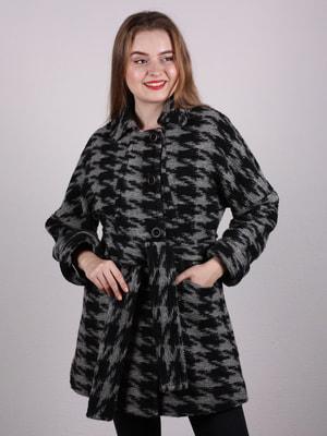 Пальто двухцветное | 4697612