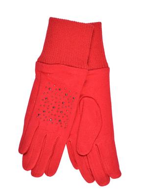 Перчатки красные подростковые | 4634496