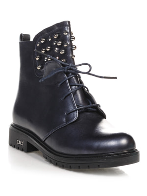 Ботинки темно-синие   4688254