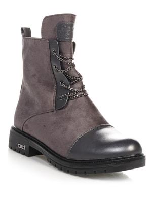 Ботинки серые   4688261
