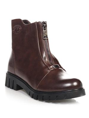 Ботинки коричневые   4688259