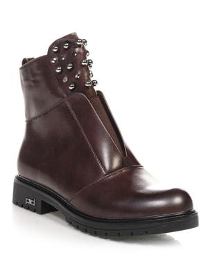 Ботинки коричневые   4688257