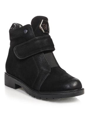 Ботинки черные   4688253