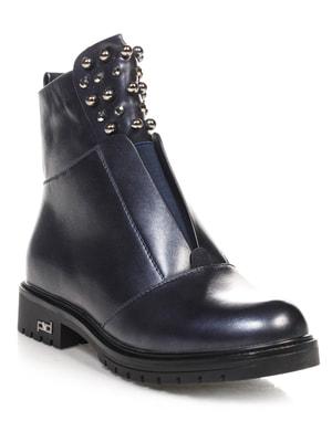 Ботинки темно-синие   4688260