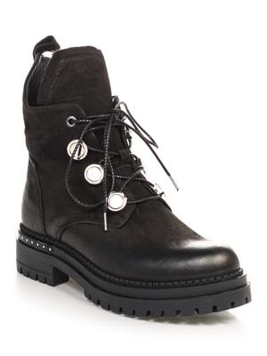 Черевики чорні | 4688188
