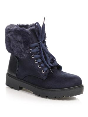 Ботинки синие | 4663759