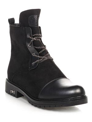 Ботинки черные   4688274