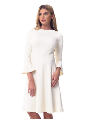 Платье молочного цвета | 4081893