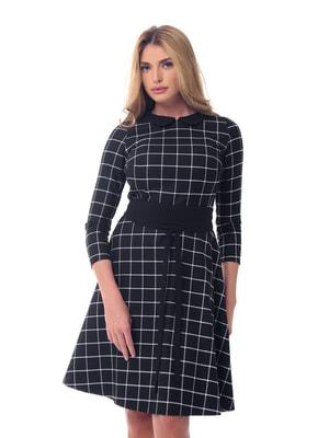 Платье черное в клетку | 4697181