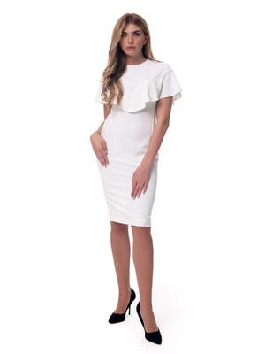 Платье молочного цвета   4697197
