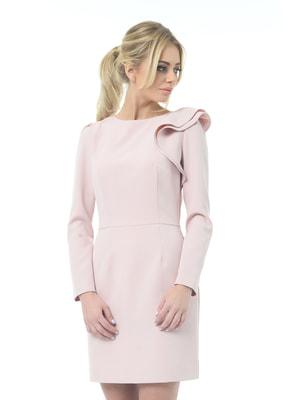 Сукня бежево-рожева | 4697200