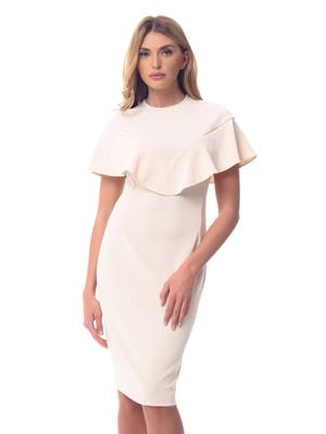Платье светло-бежевое | 4697220