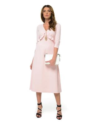 Платье розовое | 4697223