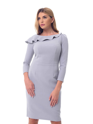 Платье серое | 4697213