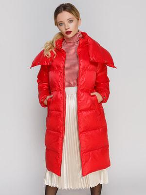 Пальто красное | 4670579