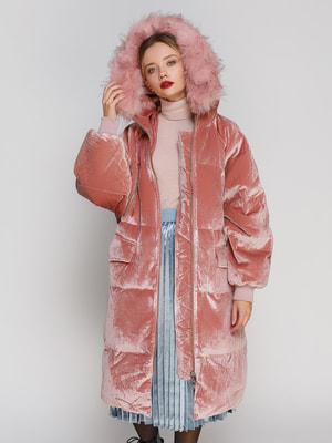 Пальто розовое | 4670577