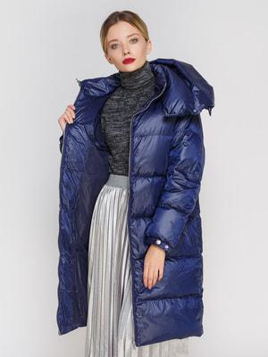 Пальто синее | 4670578