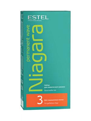 Набір для хімічної завивки Niagara для фарбованого волосся (200 мл) | 4693364