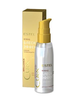 Флюїд-блиск з термозахистом для всіх типів волосся Curex Brilliance (100 мл) | 4693431