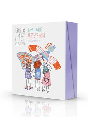 Набір для дівчаток: шампунь (200 мл), спрей для волосся (100 мл) та бальзам для губ (10 мл) | 4694012