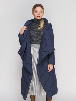 Пальто синее | 4670556