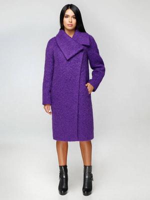 Пальто фиолетовое | 4643442