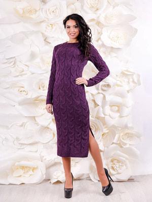 Платье фиолетовое | 4643476
