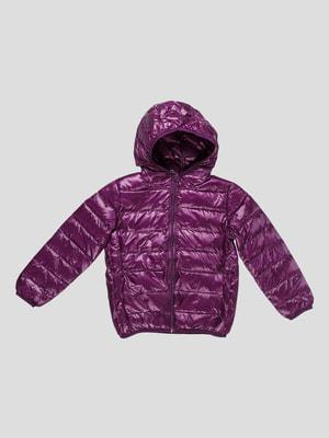 Куртка фіолетова | 4670589