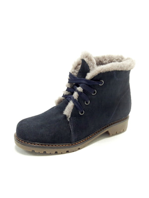Ботинки темно-синие   4690017