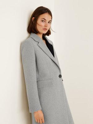 Пальто серое | 4549132