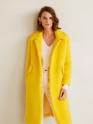 Пальто желтое | 4599209