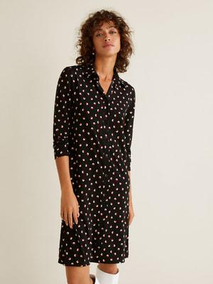 Платье в принт   4618645