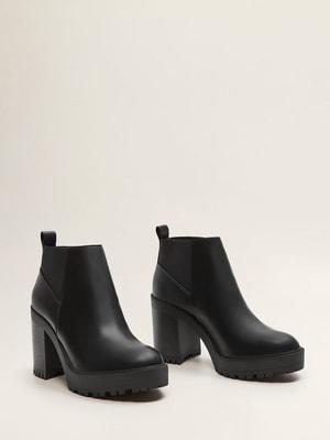 Ботинки черные | 4628394