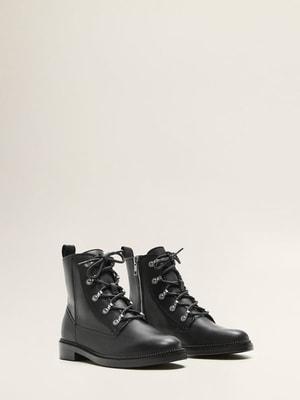 Ботинки черные | 4649875