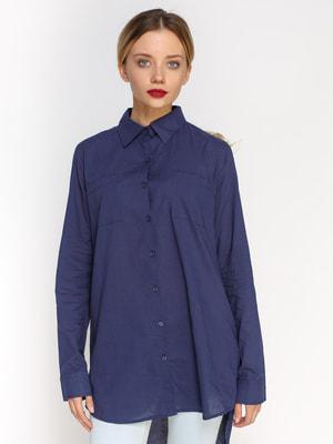 Рубашка синяя | 4626067