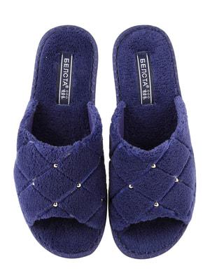 Тапочки сині | 4705027