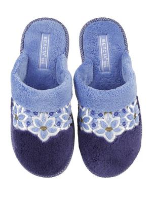 Тапочки сині | 4705031