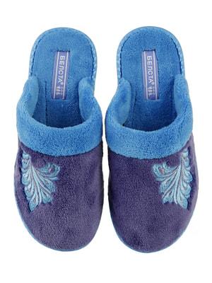 Тапочки сині | 4705035