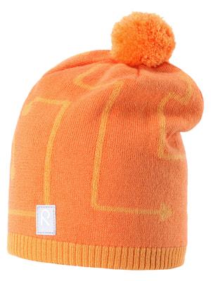 Шапка оранжевая | 1422419