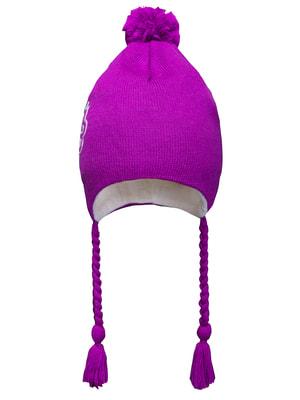 Шапка фіолетова | 1532515