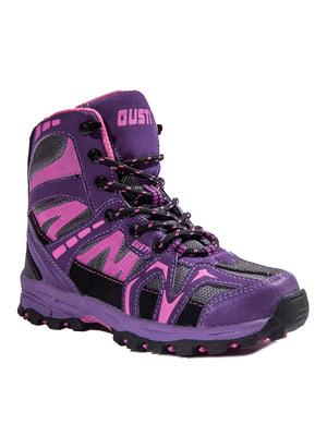 Ботинки фиолетовые | 4706130