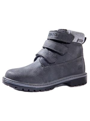 Ботинки серые | 4706155