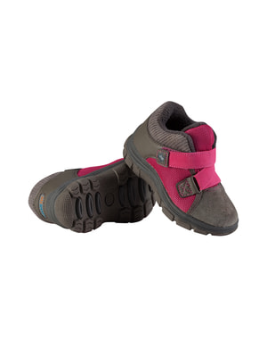 Ботинки серо-малиновые | 4706256