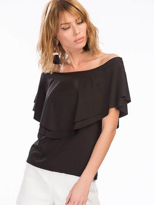 Блуза чорна | 4701405