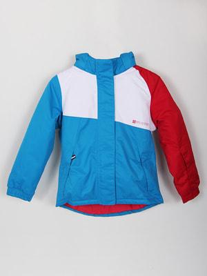Куртка триколірна | 4560293