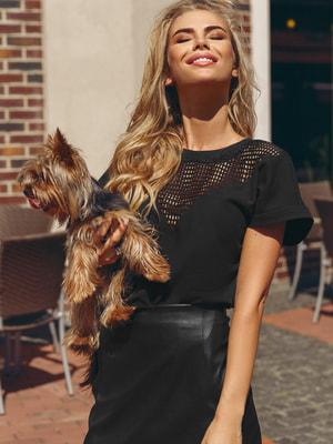 Блуза чорна | 4539044
