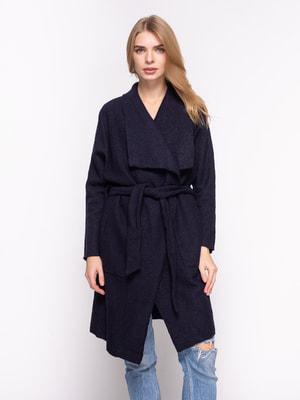 Пальто темно-синее | 2751558