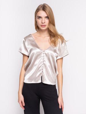 Блуза срібляста | 3268919